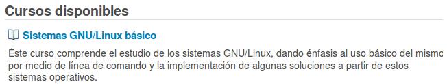 Curso - Sistema GNU/Linux básico