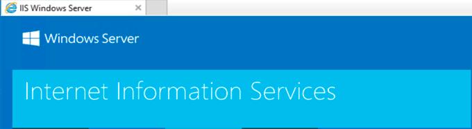 Internet Information Services (IIS)
